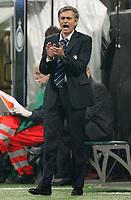 """L'ALLENATORE JOSE MOURINHO<br /> Milano 22/10/2008 Stadio """"Giuseppe Meazza"""" <br /> Champions League 2008/2009<br /> Inter-Anorthosis<br /> Foto Luca Pagliaricci Insidefoto"""