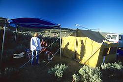 Lindsey & Alex In Camp