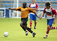 Fotball, 21. juli 2004, Treningskamp, Lyn - Wolverhampton, Shaun Newton, Wolverhamton