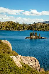 """Long Lake 3"" - Photograph of Long Lake in California's Plumas National Forest."