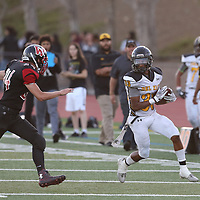 Del Mar vs Westmont in a BVAL Football Game at Westmont High School, Campbell CA on 9/7/18. (Photograph by Bill Gerth)