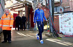 Chris Lines of Bristol Rovers arrives at The Northern Commercials Stadium (Valley Parade), home of Bradford City - Mandatory by-line: Robbie Stephenson/JMP - 02/09/2017 - FOOTBALL - Northern Commercials Stadium - Bradford, England - Bradford City v Bristol Rovers - Sky Bet League One
