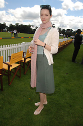 Actress TALULAH RILEY at the final of the Veuve Clicquot Gold Cup 2007 at Cowdray Park, West Sussex on 22nd July 2007.<br /><br />NON EXCLUSIVE - WORLD RIGHTS