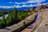 Changa, along the Leh-Manali Highway, Leh Valley,  Ladakh; Jammu and Kashmir state, India.