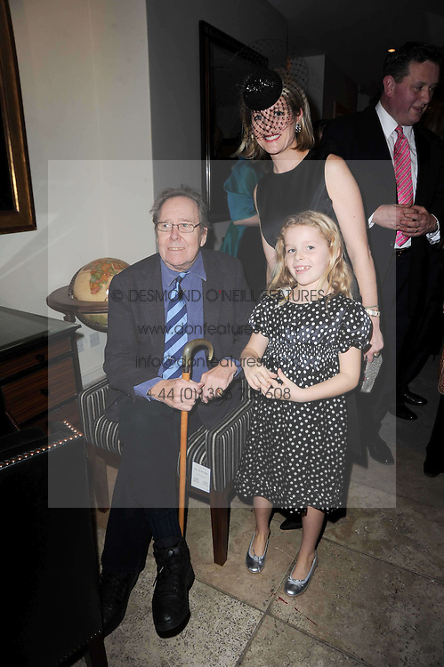 The EARL OF SNOWDON, VISCOUNTESS LINLEY and her daughter the HON.MARGARITA ARMSTRONG-JONES at the Linley Christmas Party and launch of the book 'Star Pieces' by David Linley, Charles Cator and Helen Chislett held at Linley, 60 Pimlico Road, London on 18th November 2009.