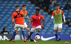 Birmingham City's players during the warm up