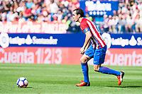 Atletico de Madrid's player Diego Godín during a match of La Liga Santander at Vicente Calderon Stadium in Madrid. September 17, Spain. 2016. (ALTERPHOTOS/BorjaB.Hojas)