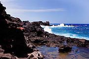 Bellstone tidal pools,aka Olivine Pools, Maui, Hawaii