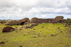 Moai, Ahu Vinapu