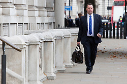 © Licensed to London News Pictures. 11/09/2019. London, UK. Chief Whip Mark Spencer arrives at The Cabinet Office .  Photo credit: George Cracknell Wright/LNP