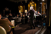 NICKY HASLAM , Nicky Haslam with pianist Paul Guinery performing songs by Cole Porter, Irving Berlin, Rogers and Hammerstein  and others at th BEAUFORT BAR? SAVOY- 8.P.M.
