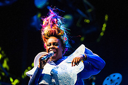 """Basement Jaxx headline the main stage on Friday night, Rockness 2013, the annual music festival which took place in Scotland at Clune Farm, Dores, on the banks of Loch Ness, near Inverness in the Scottish Highlands. The festival is known as """"the most beautiful festival in the world"""" ."""