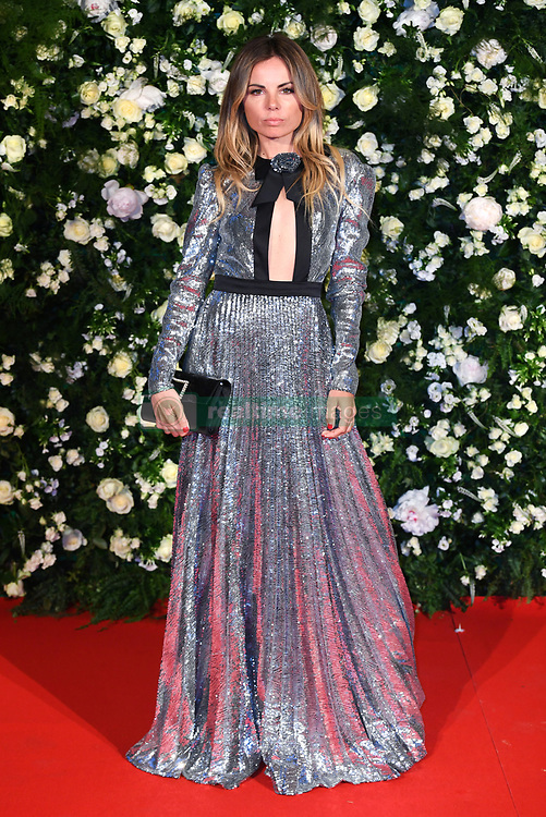 Erica Pelosini arriving at the Charles Finch Filmmakers Dinner, Eden Rock, Hotel du Cap during the 72nd Cannes Film Festival. Photo credit should read: Doug Peters/EMPICS
