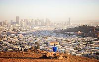 Jason Crandell at Bernal Hills, San Francisco