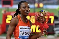Marie Josee TA LOU CIV Winner 200m Women <br /> Roma 31-05-2018 Stadio Olimpico  <br /> Iaaf Diamond League Golden Gala <br /> Athletic Meeting <br /> Foto Andrea Staccioli/Insidefoto