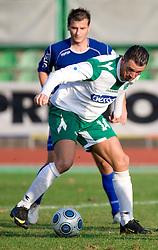 Sebastjan Cimirotic of Olimpija  at 18th Round of PrvaLiga football match between NK Olimpija and NK Labod Drava, on November 21, 2009, in ZAK, Ljubljana, Slovenia. Olimpija defeated Drava 3:0. (Photo by Vid Ponikvar / Sportida)
