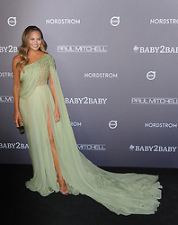 Chrissy Teigen at the 2019 Baby2Baby Gala Presented By Paul Mitchell held at the 3LABS in Culver City, USA on November 9, 2019.