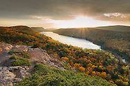 Lake of the Clouds<br /> Porcupine Mountains State Park