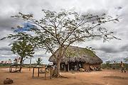 Amerindian house in the Wapishana community of Katoonarib, South Rupununi.