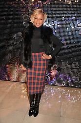 MARY J BLIGE at a private view of Isabella Blow: Fashion Galore! held at Somerset House, London on 19th November 2013.