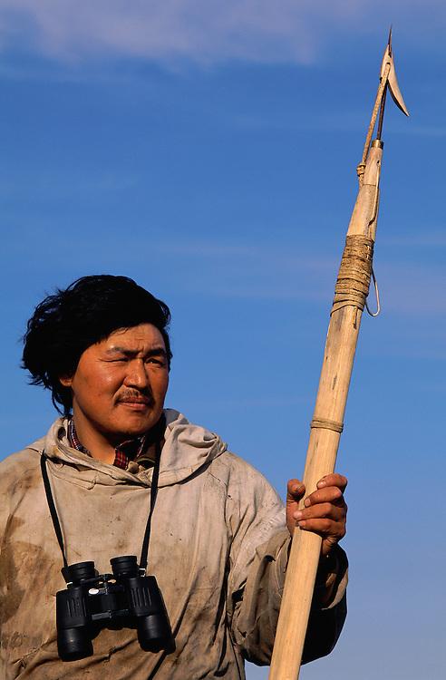 Chukchi hunter Jevgenij Sivu-Sivu, Chukotka, Siberia, Russia, Arctic