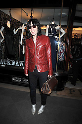 NOEL FIELDING at a party to celebrate the opening of the PPQ Jackdaw Store at 6 Burlington Arcade, London on 8th April 2009.