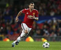 Henrikh Mkhitaryan of Manchester United ManU during the Champions League Group A match at the Old Trafford Stadium, Manchester. Picture date: September 12th 2017. <br />  <br /> Norway only