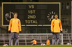 A equipe do S.C. Internacional, durante treino em Tókio, Japão. FOTO: Jefferson Bernardes/Preview.com