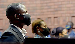 South Africa - Pretoria - 23 October 2020. Prophet Sheperd Bushiri with his wife Mary and co-accused Landiwe Sindani at the Pretoria Magistrate's court.<br /> Pictures: Oupa Mokoena/African News Agency(ANA)