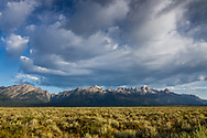 View of Grand Teton National Park in Wyoming.