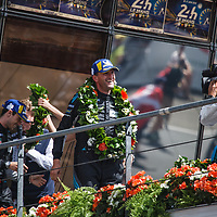 Podium GTE Am, 1. #88, Dempsey-Proton Racing (Ried/Campbell/Andlauer) on 17/06/2018 at the 24H of Le Mans, 2018