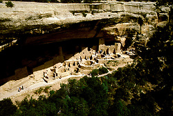 CO: Colorado Mesa Verde National Park, Cliff Palace  .Photo Copyright: Lee Foster, lee@fostertravel.com, www.fostertravel.com, (510) 549-2202.Image comesa202