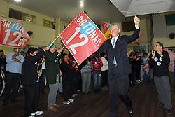 O candidato à reeleição pelo PDT em Porto Alegre, José Fortunati, durante encontro de lideranças do OP Região Norte. FOTO: Jefferson Bernardes/Preview.com