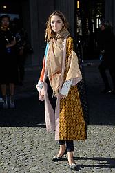 Sofia Sanchez de Betak attending the Miu Miu show as a part of Paris Fashion Week Ready to Wear Spring/Summer 2017 in Paris, France on October 05, 2016. Photo by Aurore Marechal/ABACAPRESS.COM