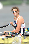 Amsterdam, HOLLAND,  GBR2 W4X, Lauren FISHER, at the 2007 FISA World Cup Rd 2 at the Bosbaan Regatta Rowing Course. 23.06.2007[Mandatory Credit: Peter Spurrier/Intersport-images]...... , Rowing Course: Bosbaan Rowing Course, Amsterdam, NETHERLANDS