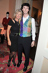 NETTE MASON and her son GUY MASON at Tatler's Jubilee Party in association with Thomas Pink held at The Ritz, Piccadilly, London on 2nd May 2012.