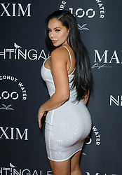 Gleise Rabelo at MAXIM Magazine's Official Release of their Sept./Oct. Issue Hosted by Cover Model Vita Sidorkina held at Nightingale on September 28, 2019 in Los Angeles, California, United States (Photo by © VipEventPhotography.com