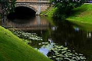 The Canal in Bastejkalna park, Riga, Latvia
