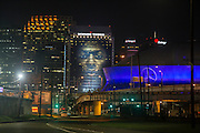 NBA All Star billboard in downtown New Orleans on Thursday, February 16, 2017. PHOTO BY CHRIS GRANGER