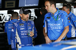October 5, 2018 - Dover, Delaware, United States of America - Matt Kenseth (6) hangs out in the garage during practice for the Gander Outdoors 400 at Dover International Speedway in Dover, Delaware. (Credit Image: © Justin R. Noe Asp Inc/ASP via ZUMA Wire)