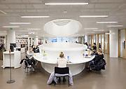 Helsinki, Kaisa University library by Anttinen Oiva Architects