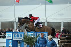 Sprehe Jörne, (GER), JP s Winzerin<br /> CSI4* Qualifikation DKB-Riders<br /> Horses & Dreams meets Denmark - Hagen 2016<br /> © Hippo Foto - Stefan Lafrentz
