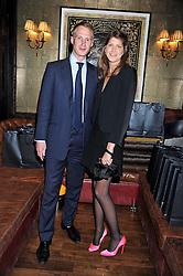 PRINCESS FLORENCE VON PREUSSEN and NICK KINDER at the launch of the Johnnie Walker Blue Label Club held at The Scotch, Mason's Yard, London on 1st May 2012.