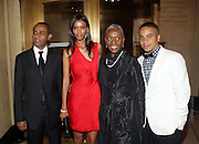 l to r: Kassy Kebede, Liya Kebede, Bethann Hardison and Kyle Hagler at ' The Celebrating Fashion ' A Gala Benefit to support the Gordon Parks Foundation held at Gotham Hall on June 2, 2009 in New York City. ..The Gordon Parks Foundation-- created to preserve the work of groundbreaking African American Photographer and honor others who have dedicated their lives to the Arts--presents the Gordon Parks Award to four Artists who embody the principals Parks championed in his life.