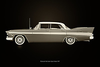 The 1957 Plymouth Belvedere Sport Sedan was a sporty family car with style; the end of the 1950s was the beginning of golden times and people were looking for prestige through the choice of their cars. The 1957 Plymouth Belvedere Sport Sedan has an unprecedented design and space to cruise through the American landscape.<br /> <br /> This painting of a Plymouth Belvedere Sport Sedan from 1957 can be printed very large on different materials. –<br /> <br /> BUY THIS PRINT AT<br /> <br /> FINE ART AMERICA<br /> ENGLISH<br /> https://janke.pixels.com/featured/plymouth-belvedere-sport-black-and-white-jan-keteleer.html<br /> <br /> WADM / OH MY PRINTS<br /> DUTCH / FRENCH / GERMAN<br /> https://www.werkaandemuur.nl/nl/shopwerk/Plymouth-Belvedere-Sport-Zwart-en-Wit/743762/132?mediumId=11&size=75x50<br /> <br /> -