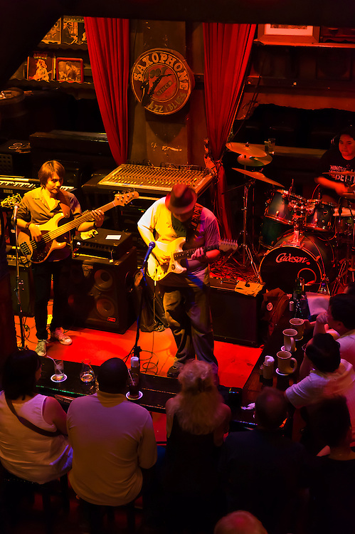Saxophone Pub (blues and jazz bar), Victory Monument, Bangkok, Thailand