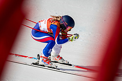 PYEONGCHANG-GUN, SOUTH KOREA - FEBRUARY 21:  Jennifer Piot of France competes during the Ladies' Downhill on day 12 of the PyeongChang 2018 Winter Olympic Games at Jeongseon Alpine Centre on February 21, 2018 in Pyeongchang-gun, South Korea. Photo by Ronald Hoogendoorn / Sportida