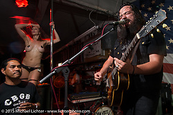 Entertainment at the Dice issue 62 release pre-party at at Chun in Los Angeles before Born Free-7. CA, USA. . June 25, 2015.  Photography ©2015 Michael Lichter.