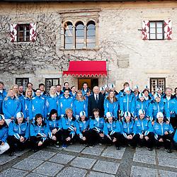 20110209: SLO, Slovenia team for EYOF Liberec 2011