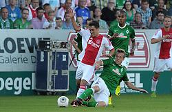 19-07-2013 VOETBAL: WERDER BREMEN - AFC AJAX: MEPPEN<br /> Bojan (Amsterdam #7), Felix Kroos (Bremen #18)<br /> ***NETHERLANDS ONLY***<br /> ©2013-FotoHoogendoorn.nl